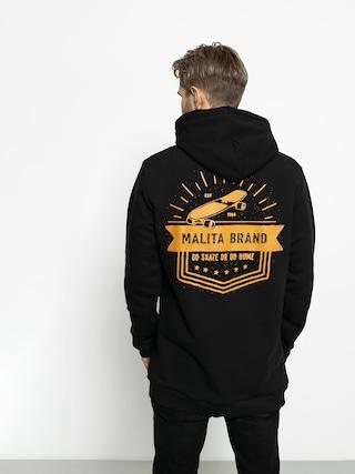 Bluza z kapturem Malita Go Skate HD (black)