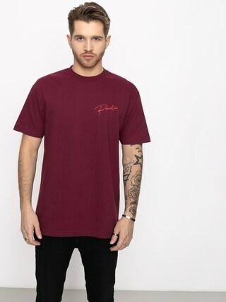 T-shirt Primitive Ginza Script (burgundy)