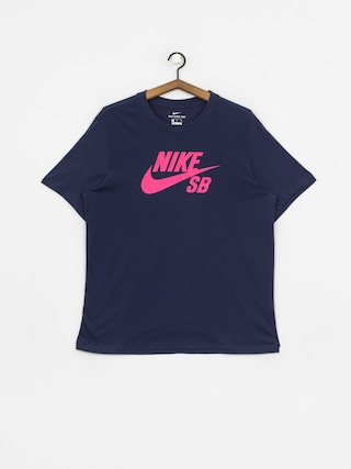 T-shirt Nike SB Sb Dri Fit (midnight navy/watermelon)