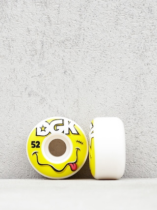 Kółka DGK Smiley (white/yellow)