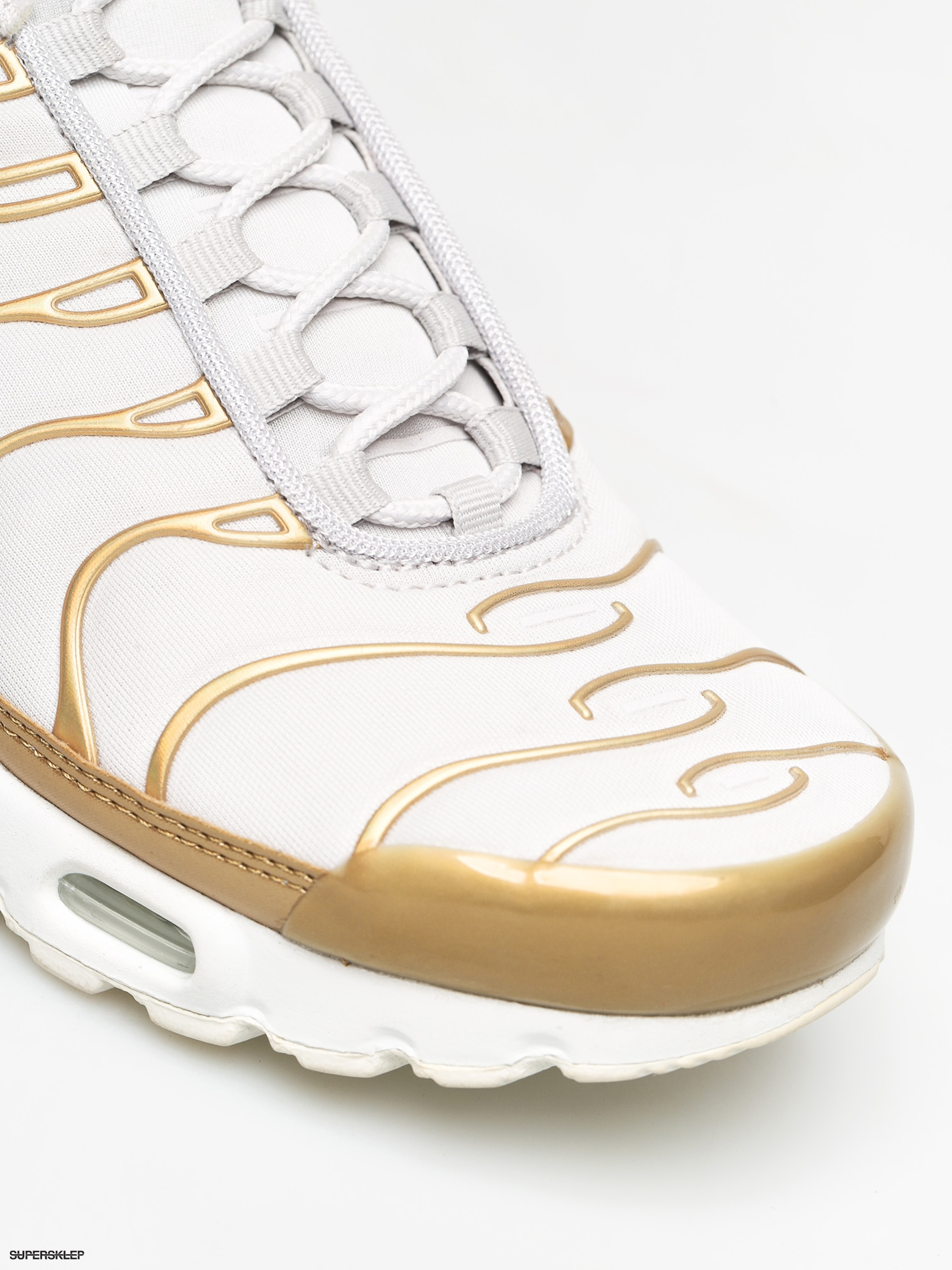Sneakers buty damskie Nike Air Max 200 whitemetallic gold