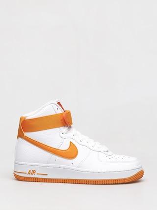 Buty Nike Air Force 1 High Wmn (white/orange peel campfire orange)