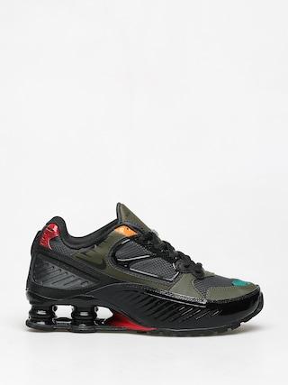 Buty Nike Shox Enigma Wmn (black/anthracite cargo khaki gym red)
