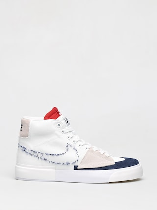 Buty Nike SB Zoom Blazer Mid Edge (white/midnight navy university red)