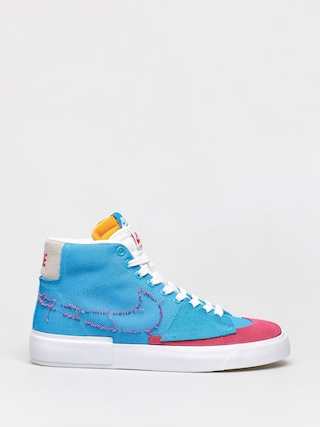 Buty Nike SB Zoom Blazer Mid Edge (laser blue/watermelon university gold)