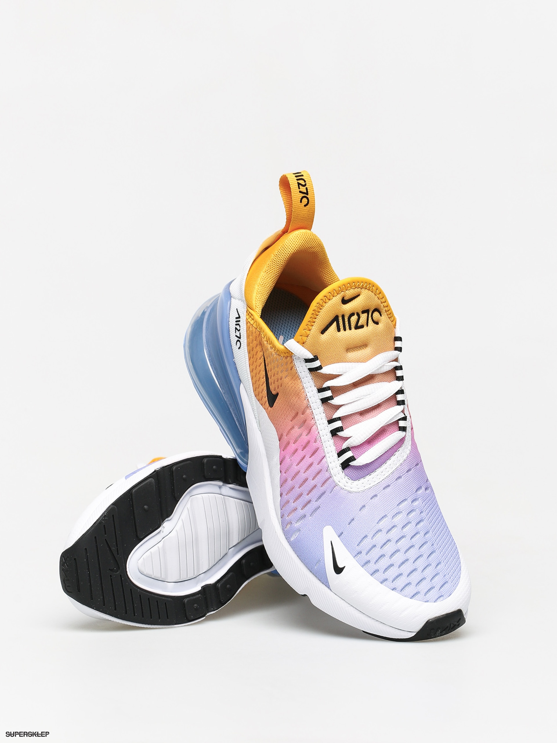 Nike Air Max 270 University Gold and Black