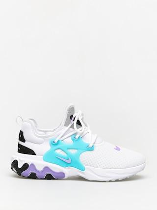 Buty Nike React Presto (white/night maroon black atomic violet)