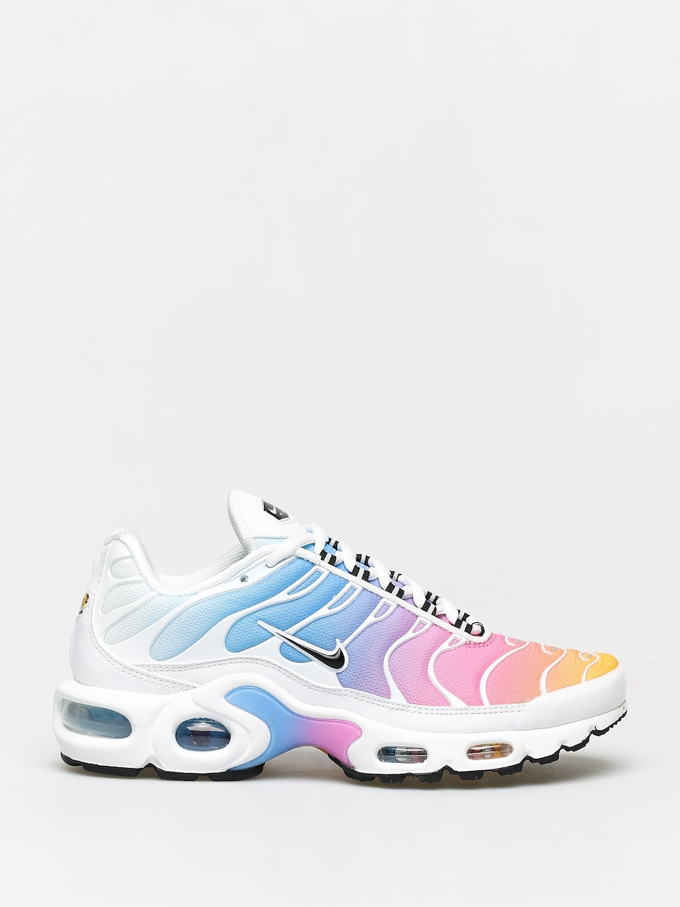 Buty Nike Air Max Plus Wmn (whiteblack university blue psychic pink)