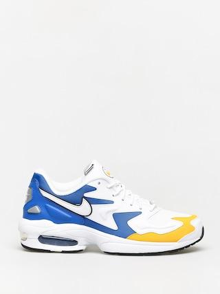 Buty Nike Air Max2 Light Prm (white/white university gold game royal)