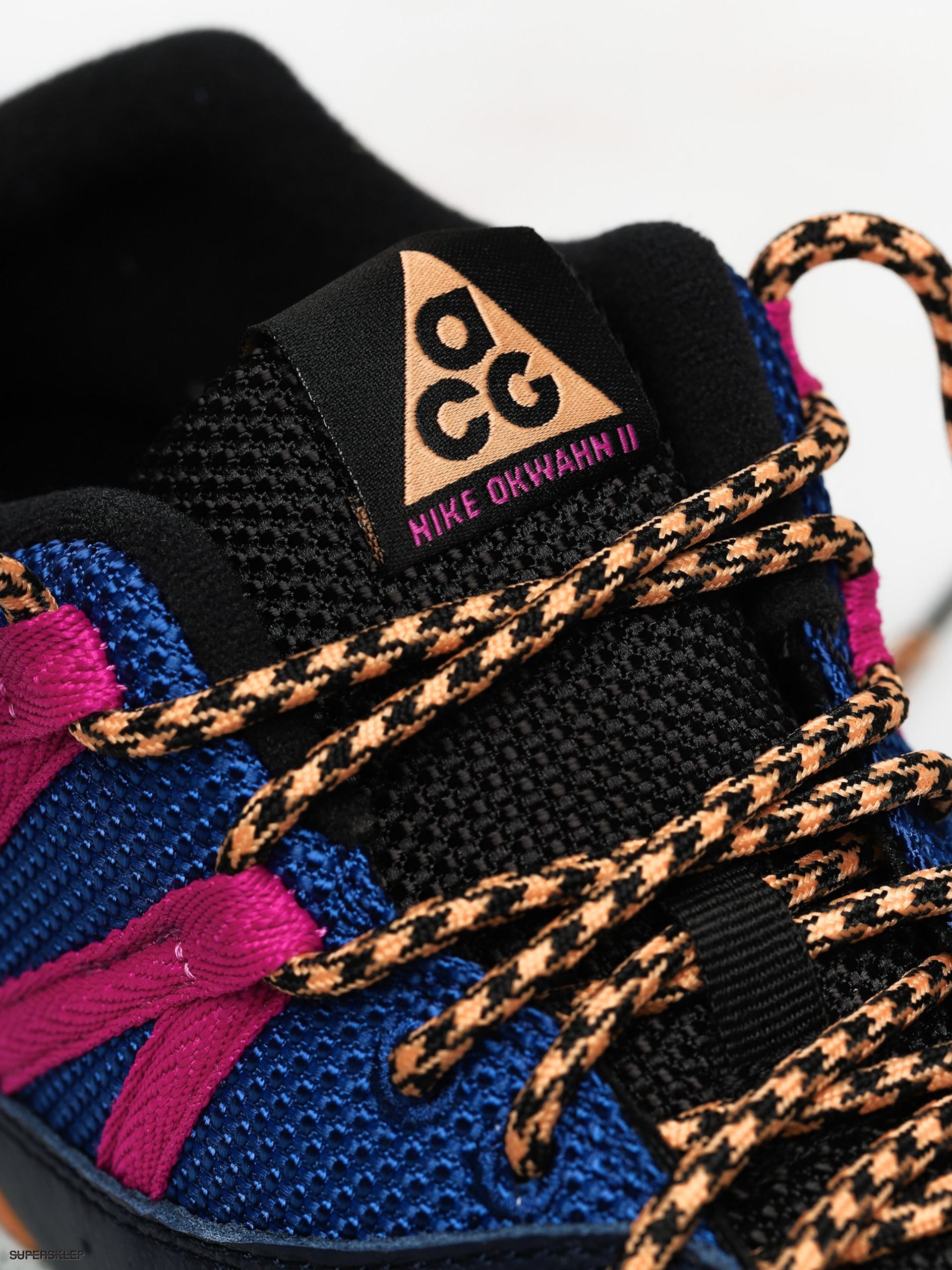 Buty Nike Okwahn II ACG (obsidianfuel orange indigo force)