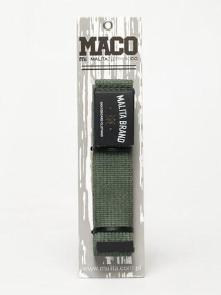 Pasek Malita Brand Maco (green)