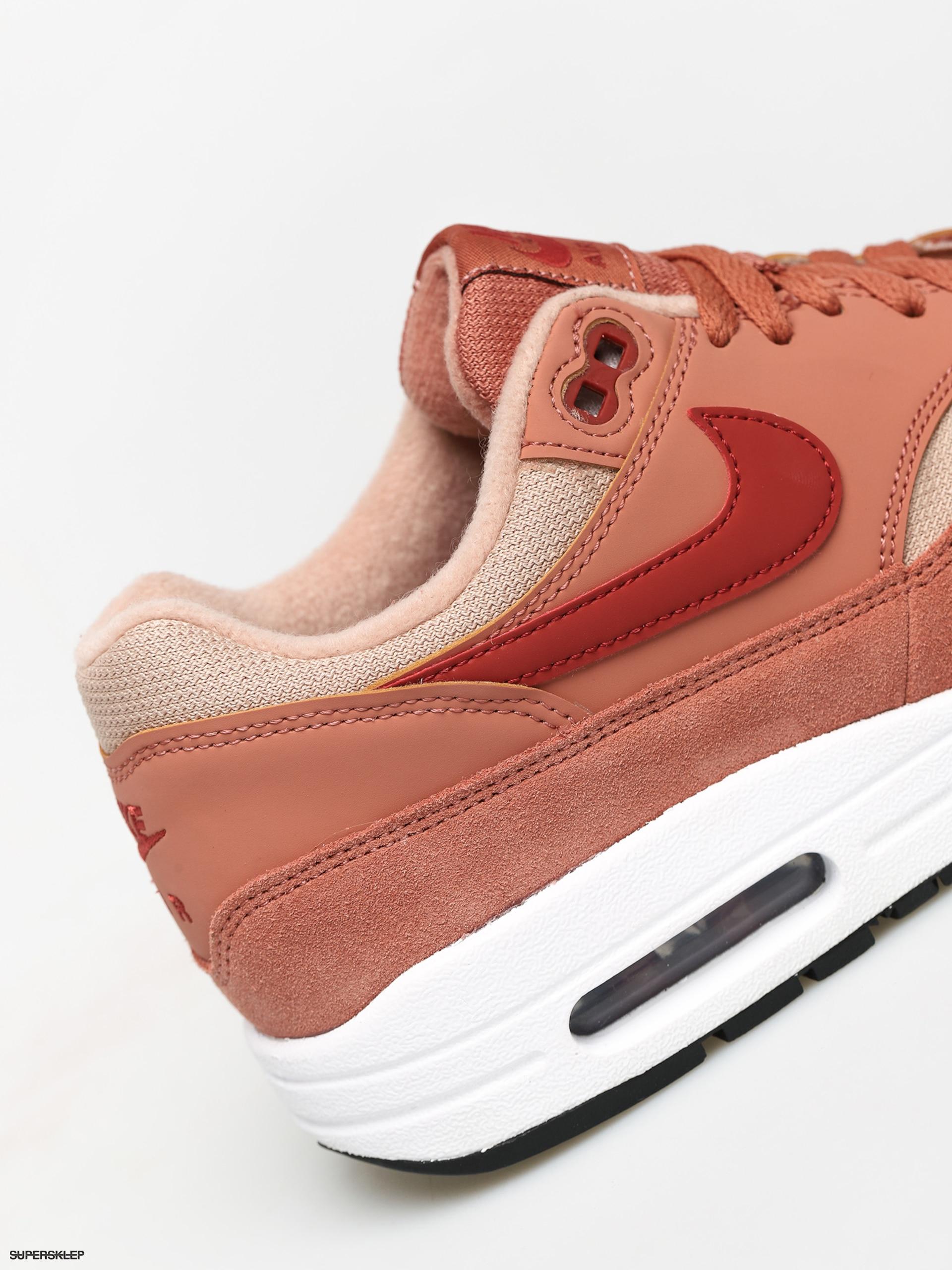 Buty Nike Air Max 1 Wmn (terra blushdune red bio beige black)