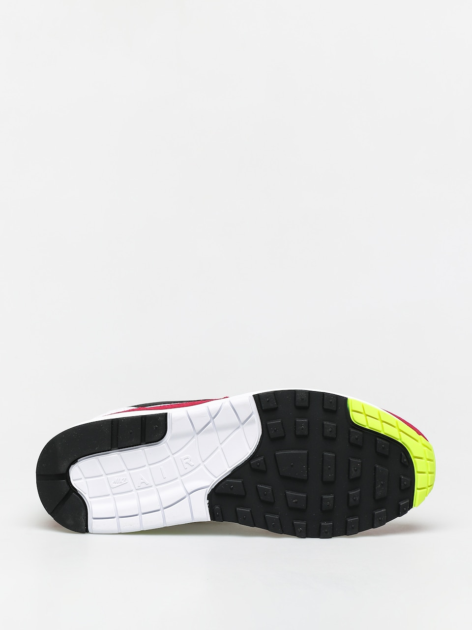 Buty Nike Air Max 1 (whiteblack volt rush pink)