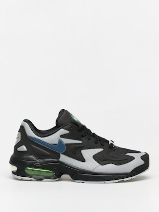 Buty Nike Air Max2 Light (black/thunderstorm wolf grey volt)