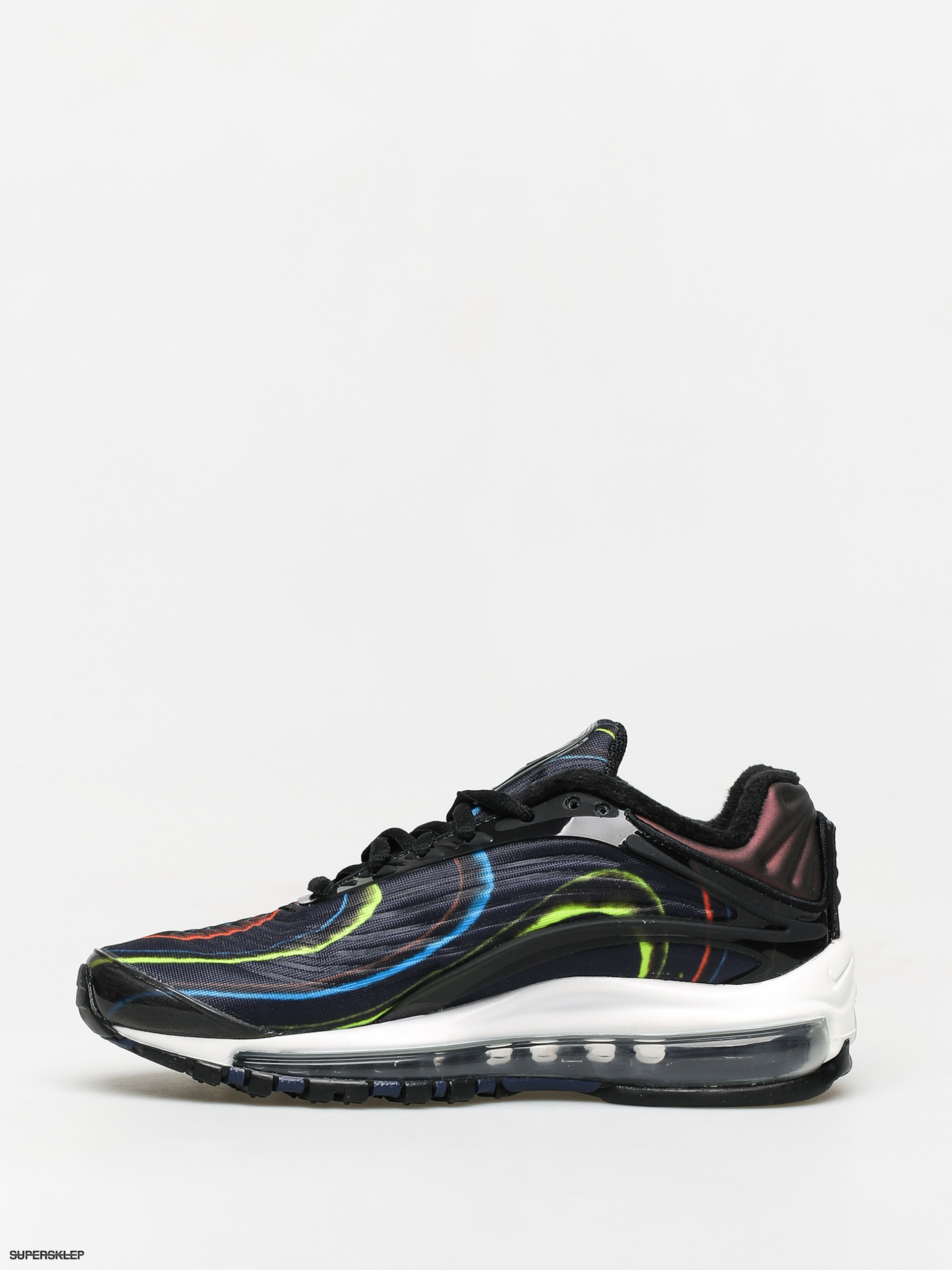 Buty Nike Air Max Deluxe Wmn (blackblack midnight navy reflect silver)
