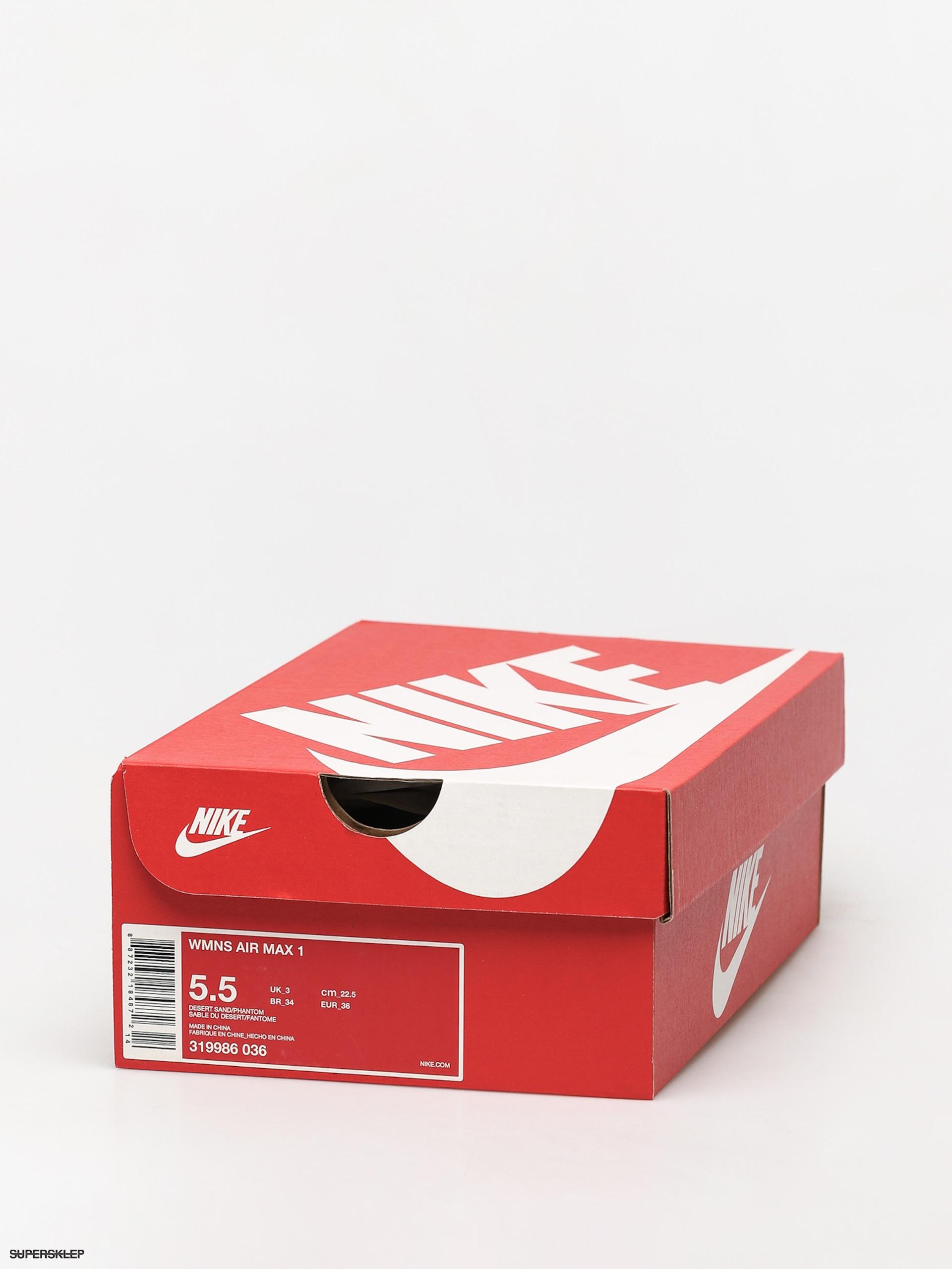 Buty Nike Air Max 1 Wmn (desert sandphantom gum light brown)