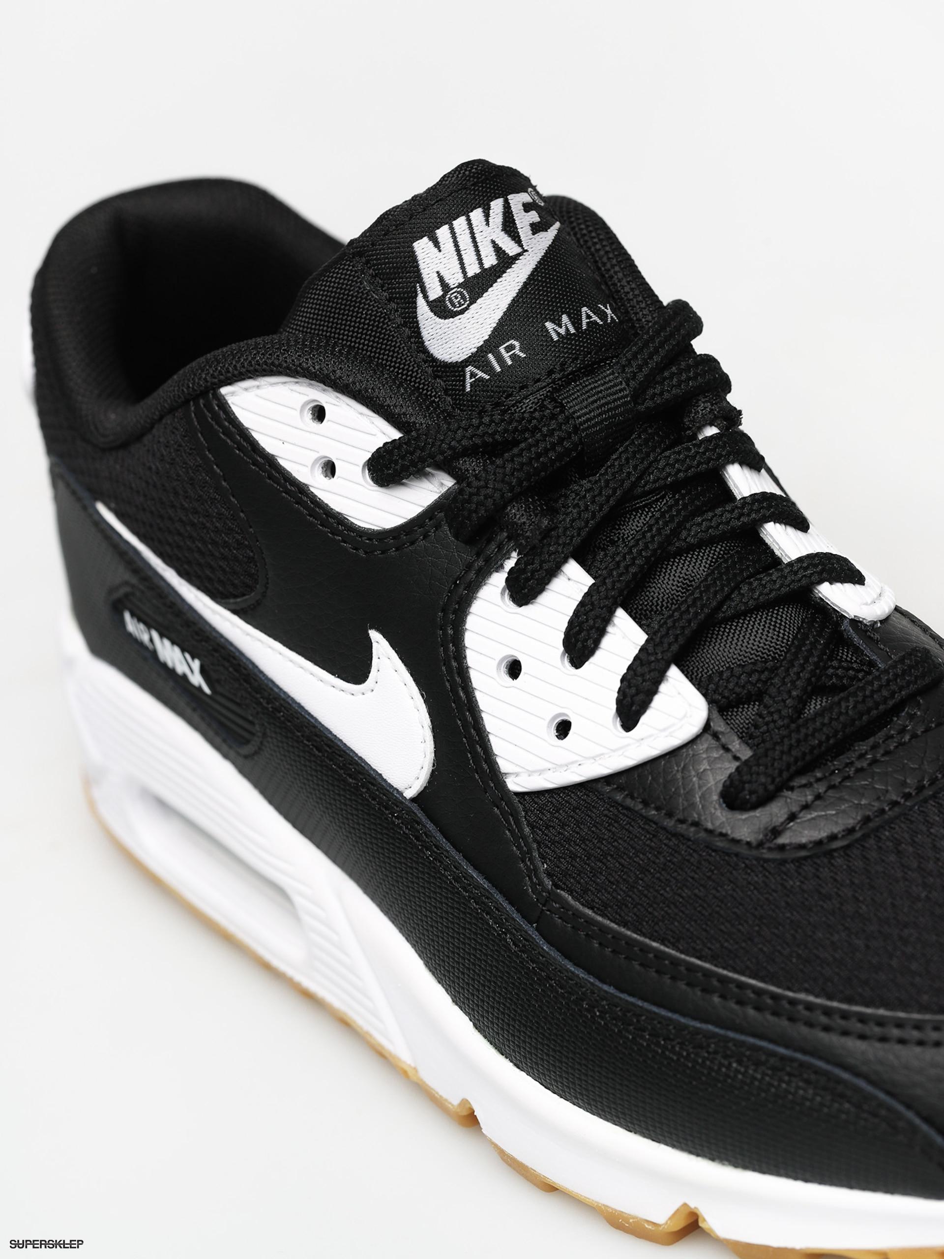 Buty Nike Air Max 90 Wmn (blackwhite gum light brown white)