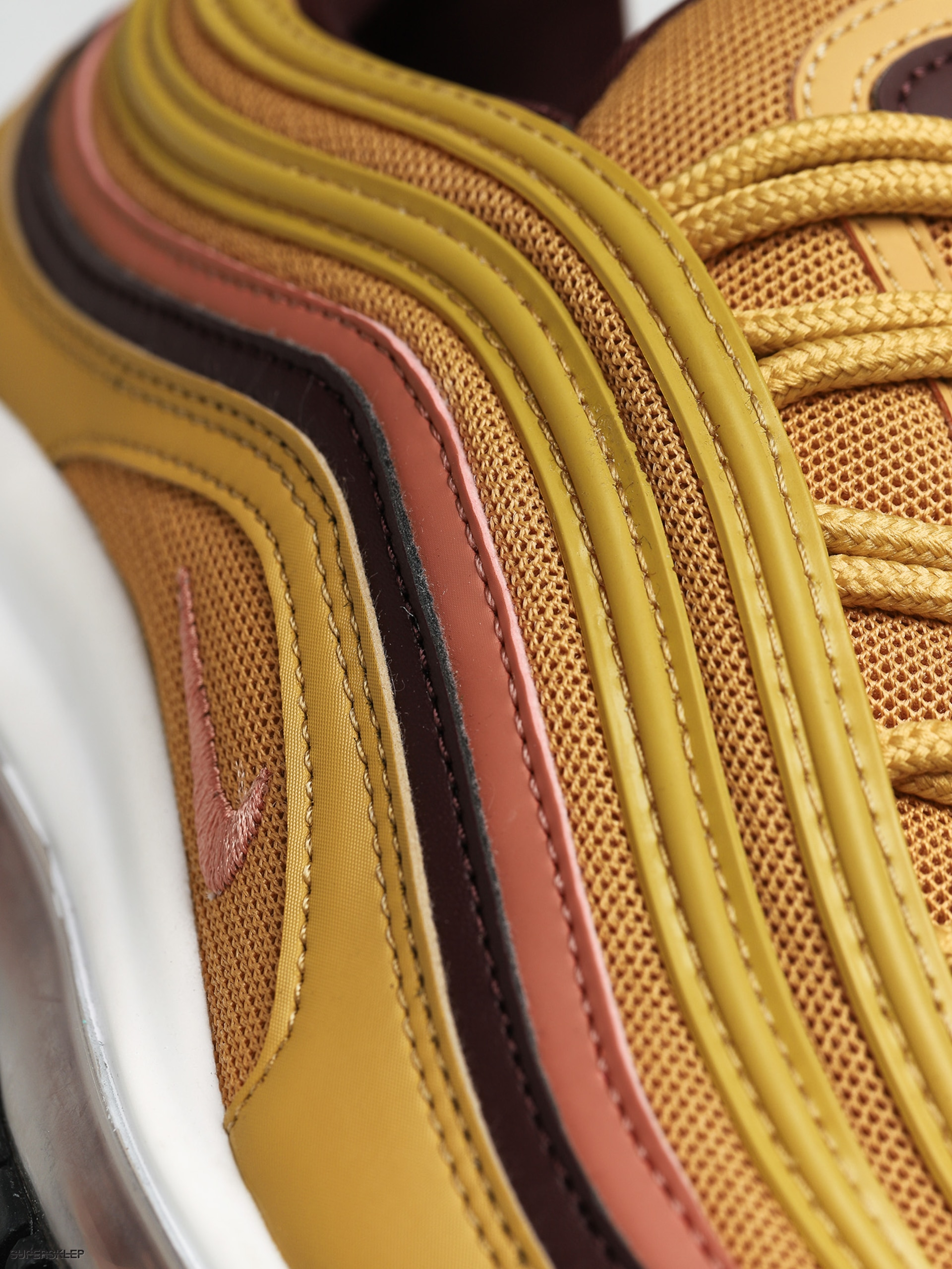 Buty Nike Air Max 97 Wmn (wheat goldterra blush burgundy crush)