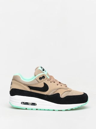 Buty Nike Air Max 1 Wmn (desert/black green glow white)