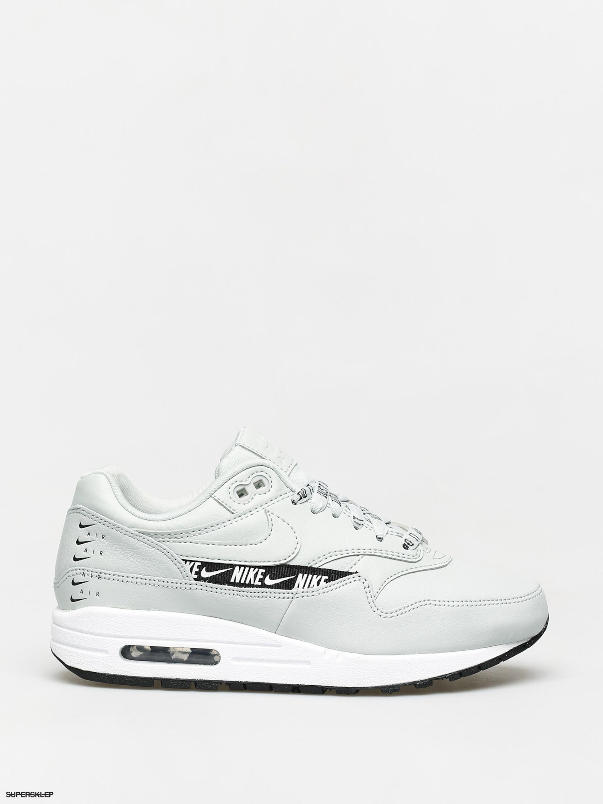 Buty Nike Air Max 1 Se Wmn (light silverlight silver black white)