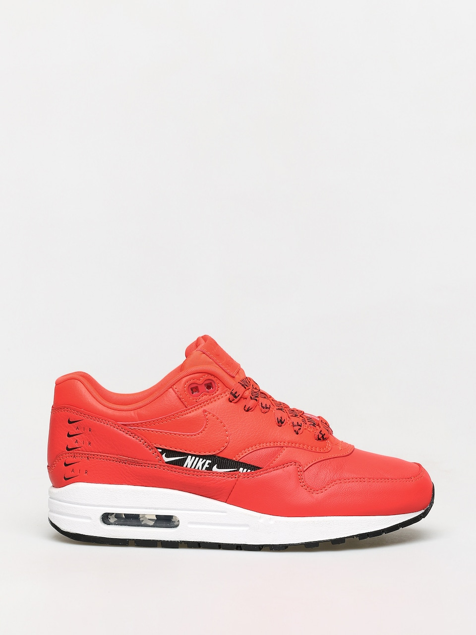 Nike Air Max 1 Premium SC Team Red & Metallic Dark Grey | END.
