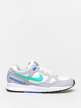 Buty Nike Air Span II (wolf grey/clear emerald white racer blue)