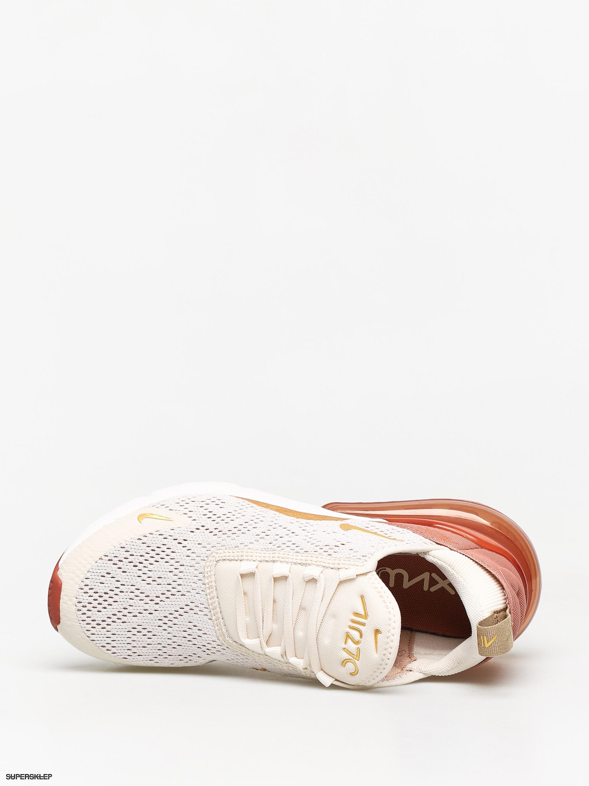 Buty Nike Air Max 270 Wmn (light creammetallic gold terra blush)