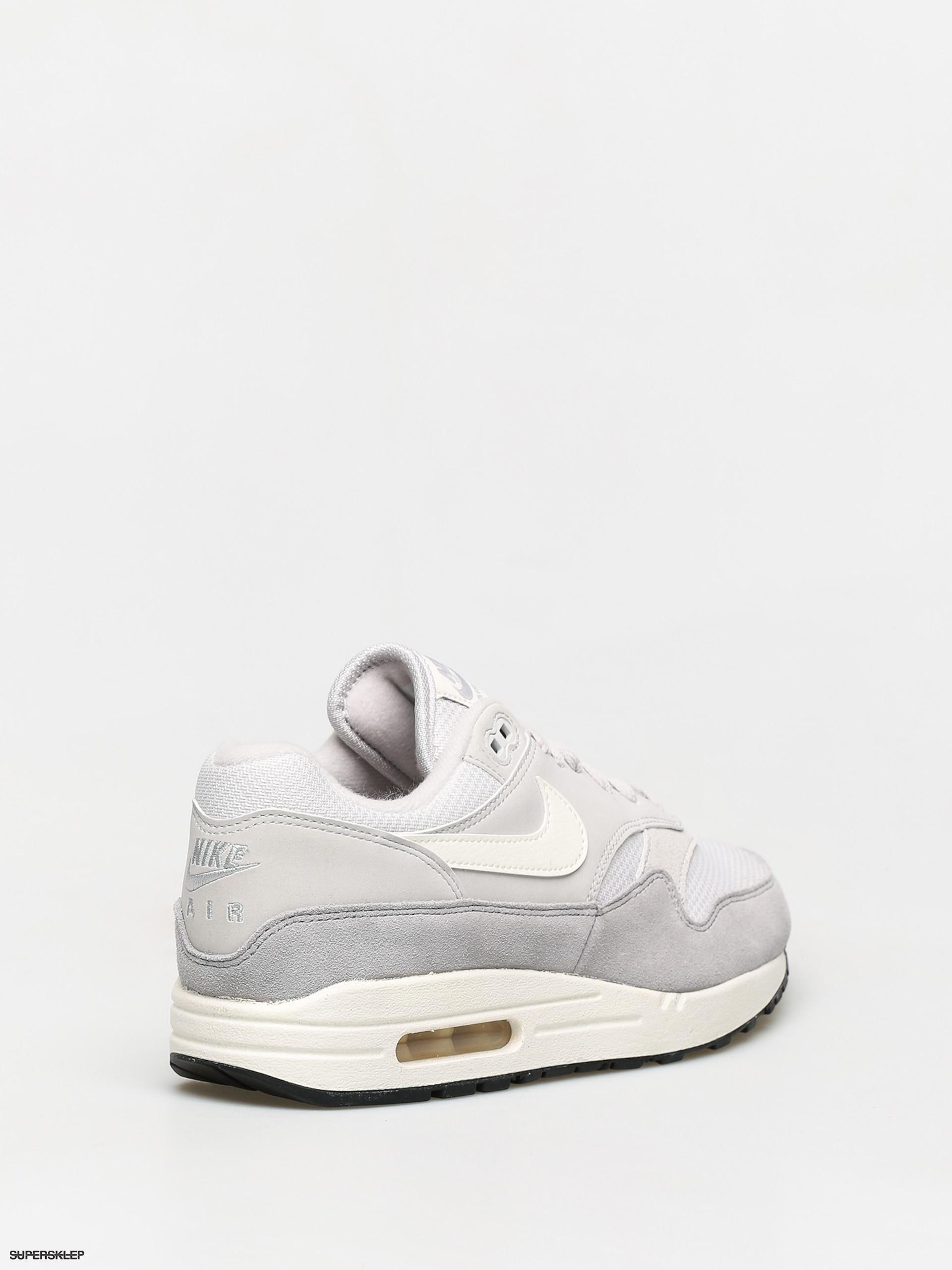 Sneakers buty Nike Air Max 1 vast grey sail sail wolf grey (AH8145 011)