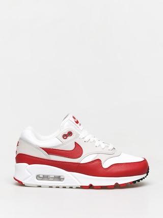 Buty Nike Air Max 90/1 Wmn (white/university red neutral grey black)