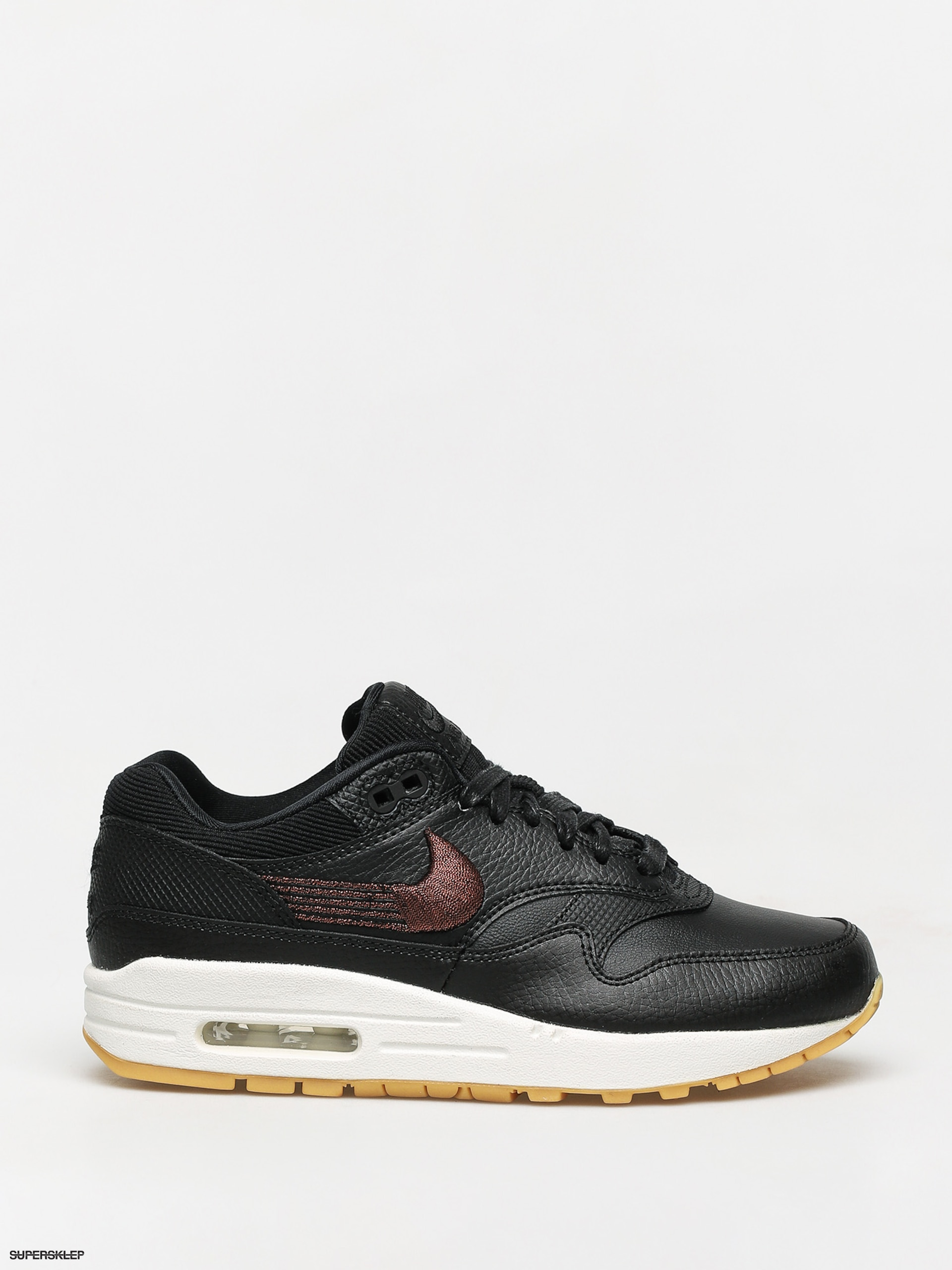 Buty sportowe męskie Nike air max 91 wiązane skórzane
