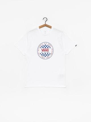 T-shirt Vans Og Checker (white)