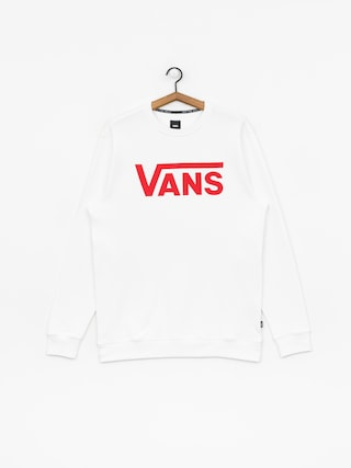 Bluza Vans Classic (white/racing red)