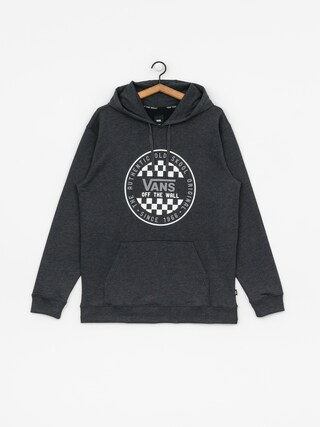 Bluza z kapturem Vans Og Checker HD (black heather)