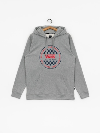 Bluza z kapturem Vans Og Checker HD (cement heather)