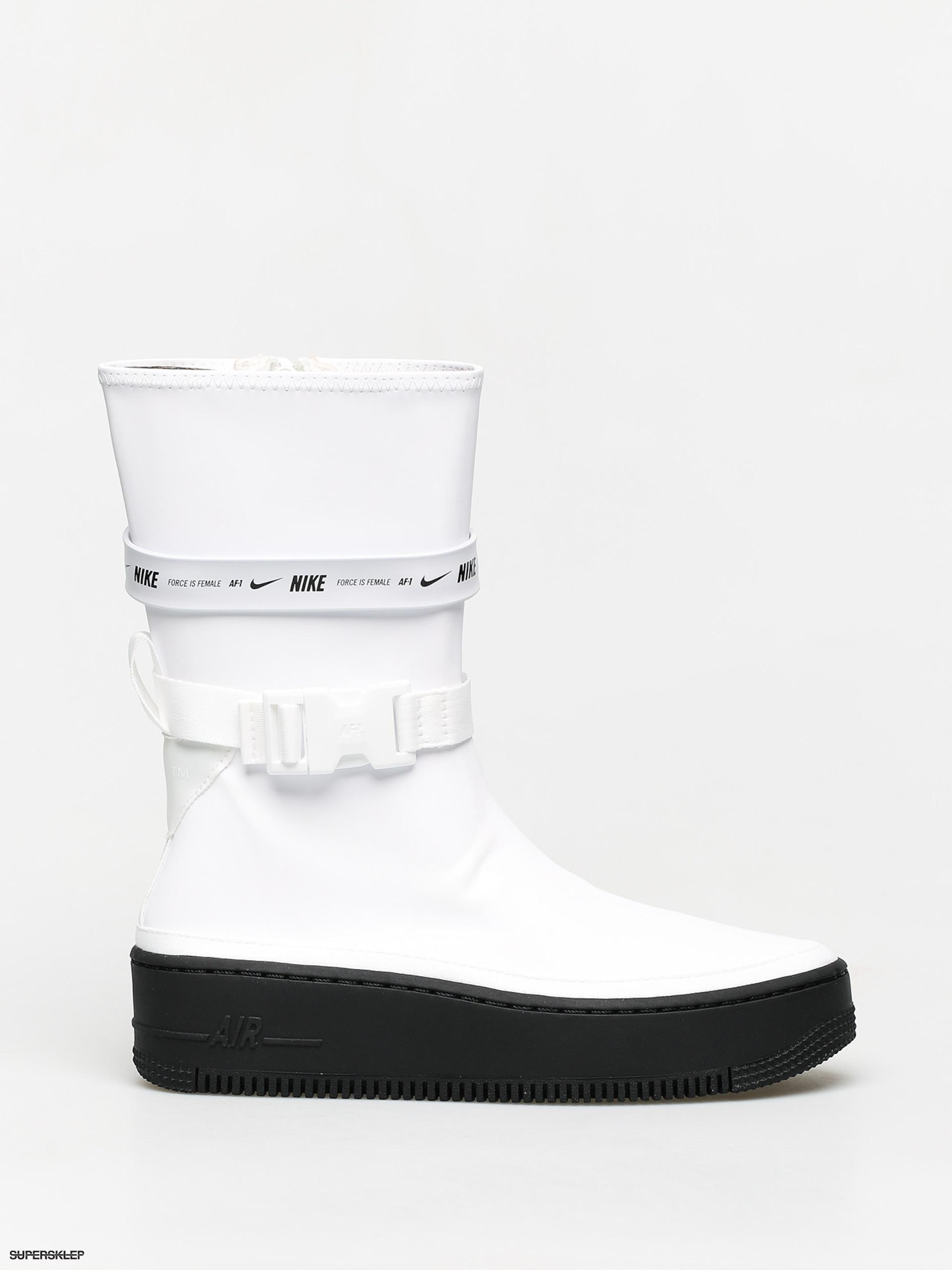 Buty Nike Air Force 1 High Wmn (whitewhite white)