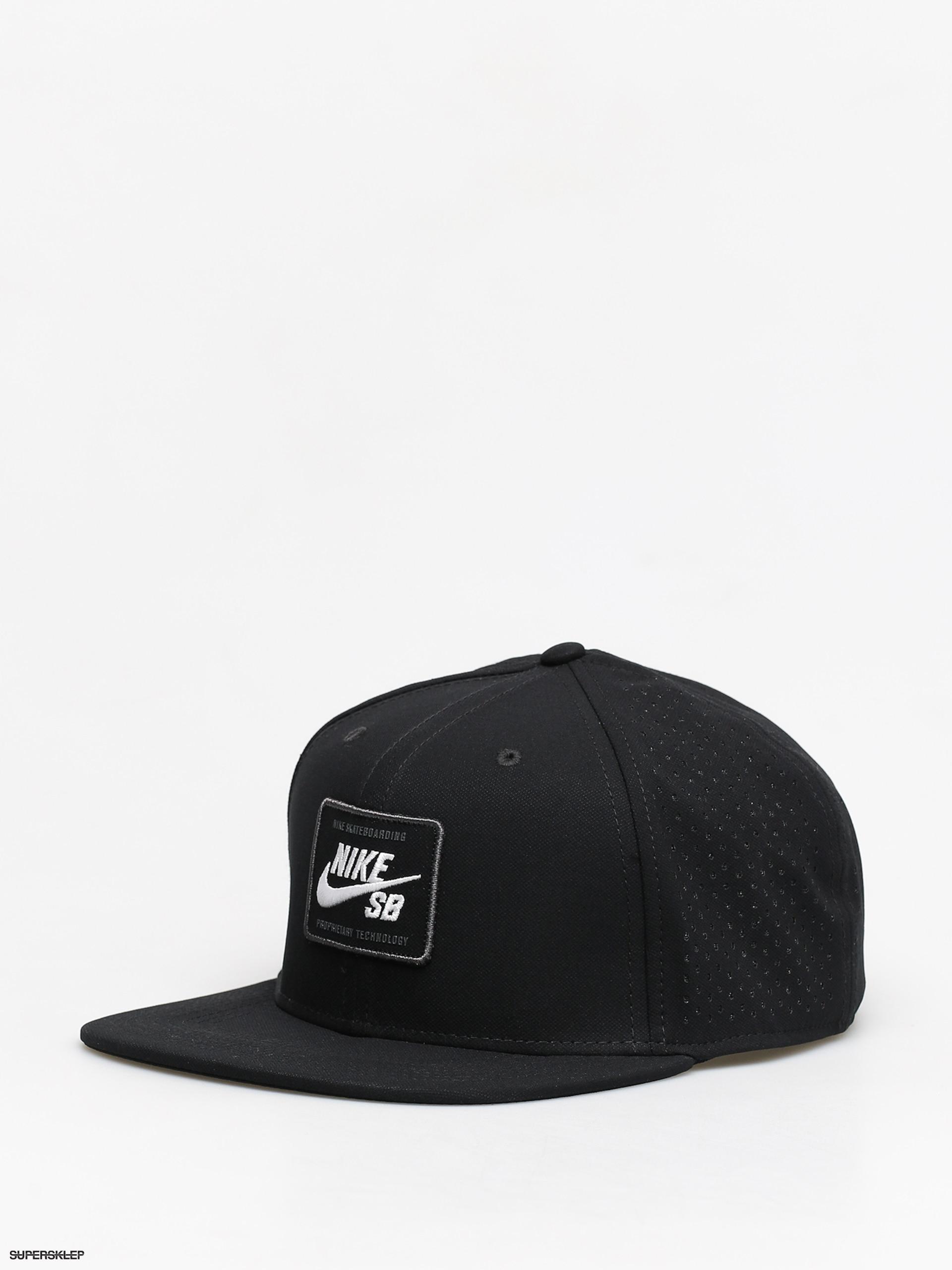 Correspondiente con tiempo estanque  Czapka z daszkiem Nike SB Sb Aerobill Pro 2 0 (black/white)