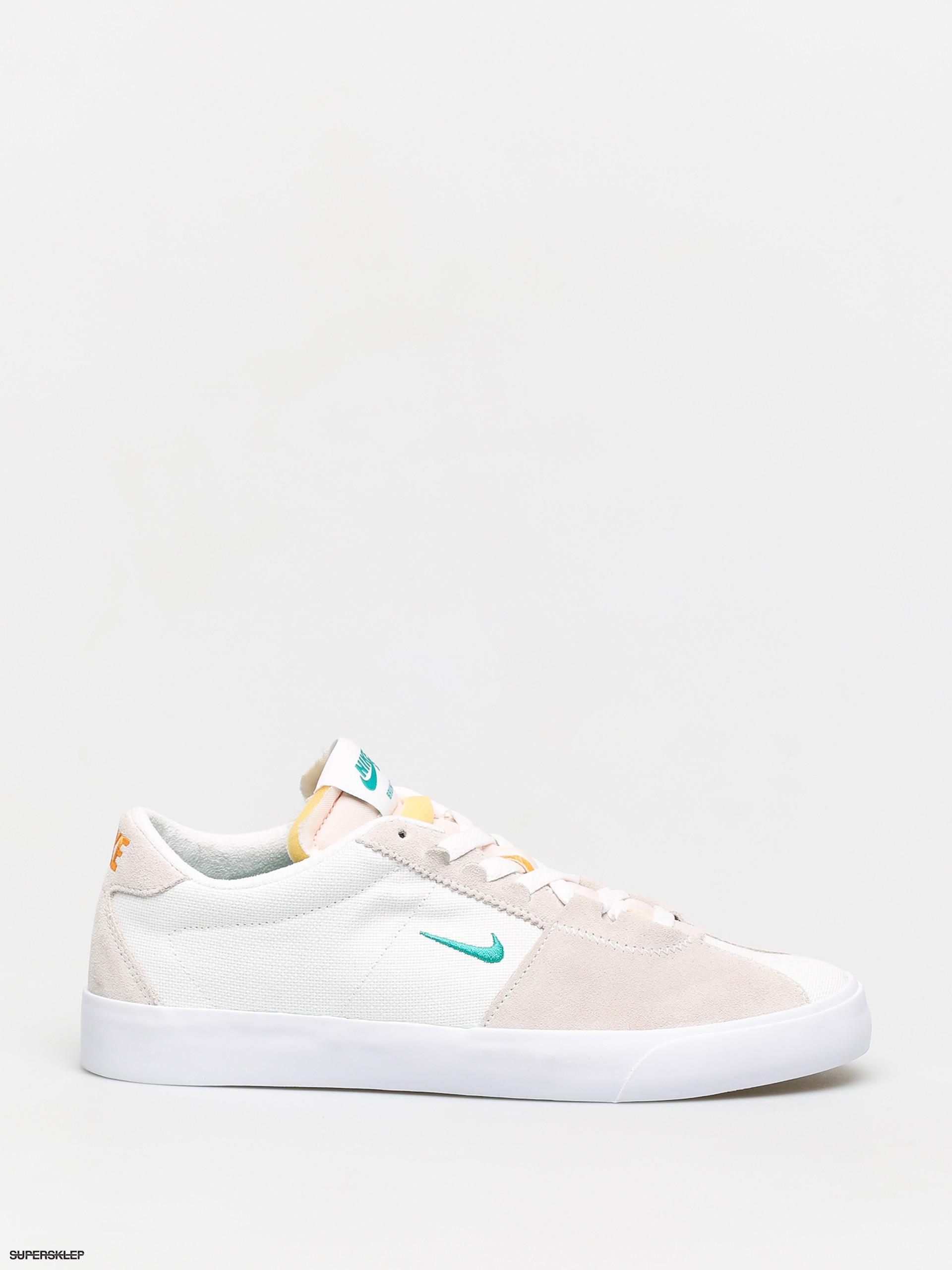 Buty Nike SB Air Zoom Bruin Edge (whiteneptune green vivid orange)