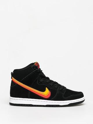 Buty Nike SB Dunk High Pro (black/university gold team orange)