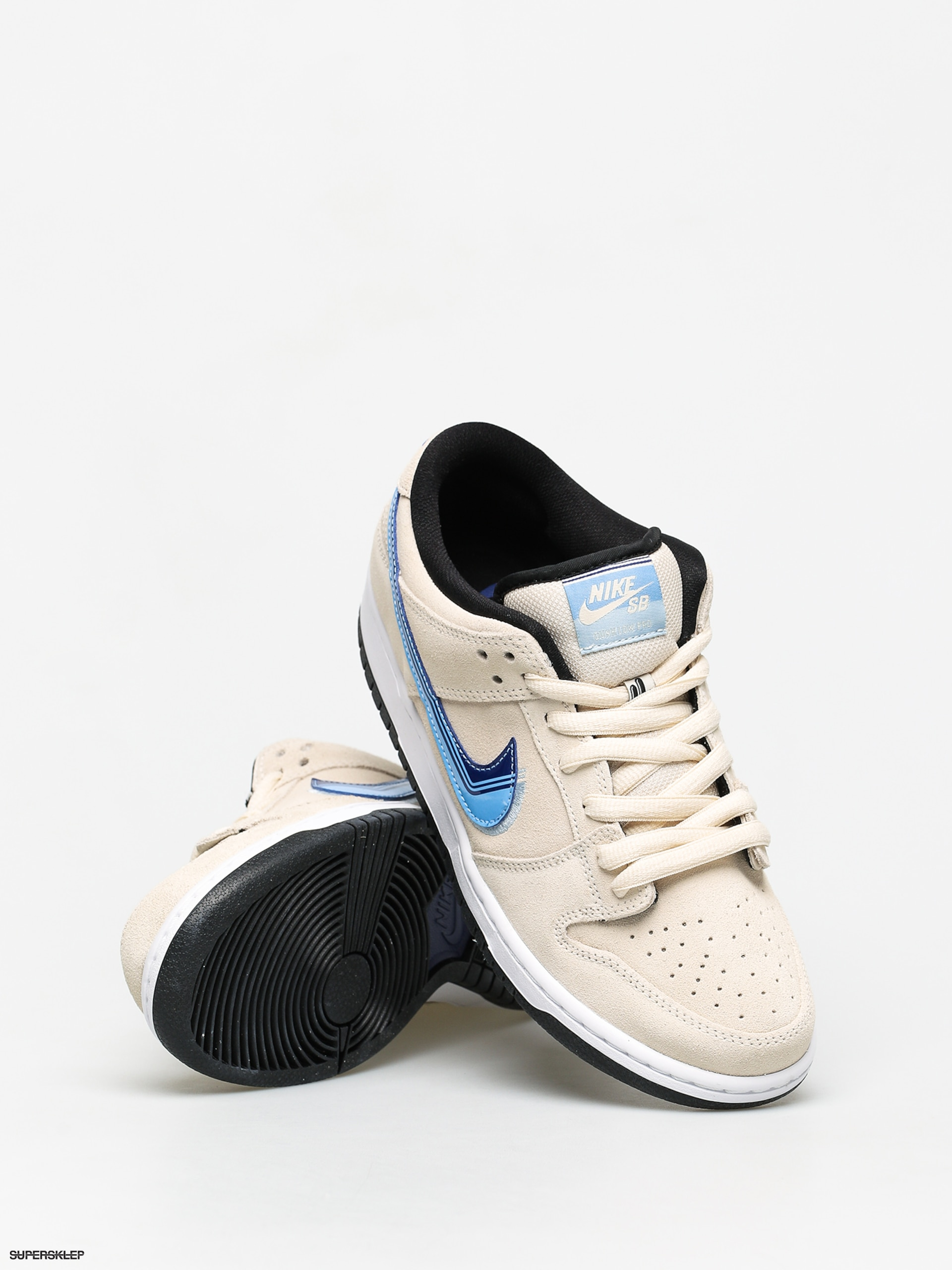 Buty Nike SB Dunk Low Pro (light creamdeep royal blue)