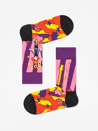 Skarpetki Happy Socks Linda And Johnny Ramone (purple/multi/black)