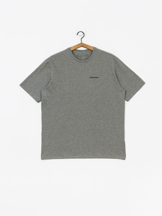 T-shirt Patagonia Logo Responsibili (gravel heather)