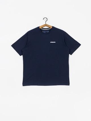 T-shirt Patagonia P6 Logo Responsibili (classic navy)
