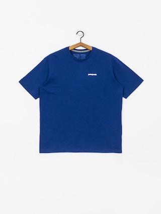 T-shirt Patagonia Logo Responsibili (superior blue)