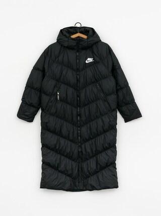Pu0142aszcz Nike Dwn Fill Parka Long Stmt Wmn (black/black/white)