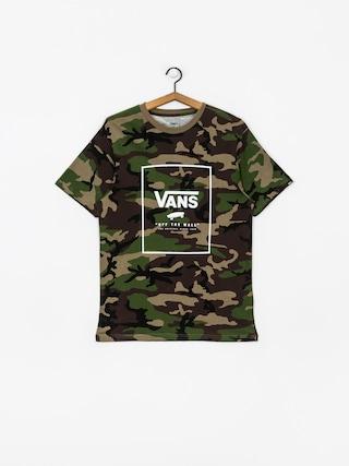 T-shirt Vans Print Box (camo/white)