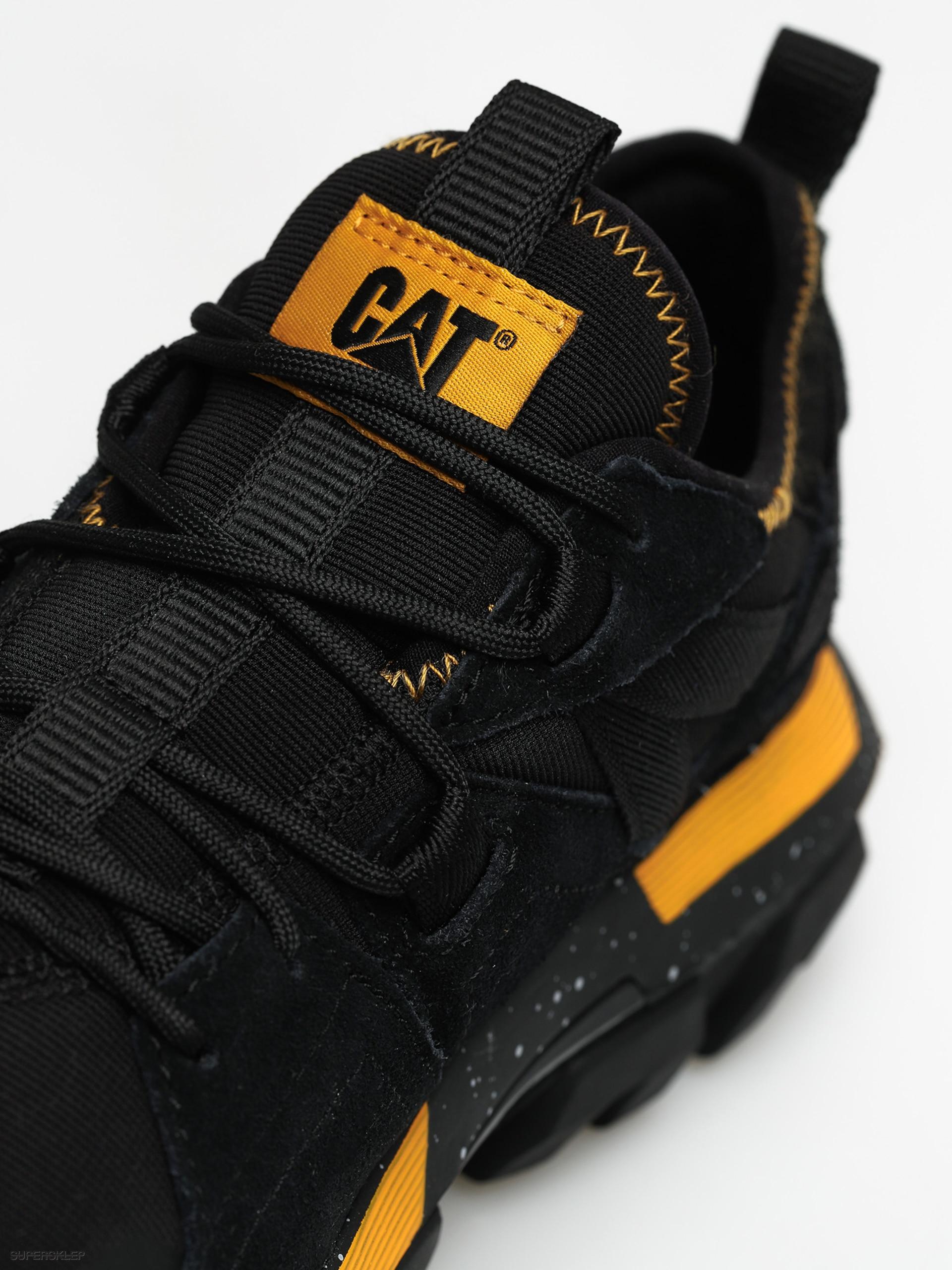 Buty Caterpillar Raider Sport (blackcat yellow)