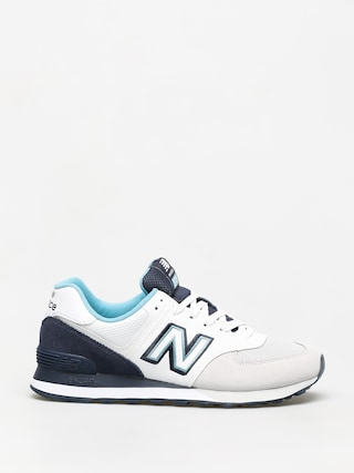 Buty New Balance 574 (white/navy)
