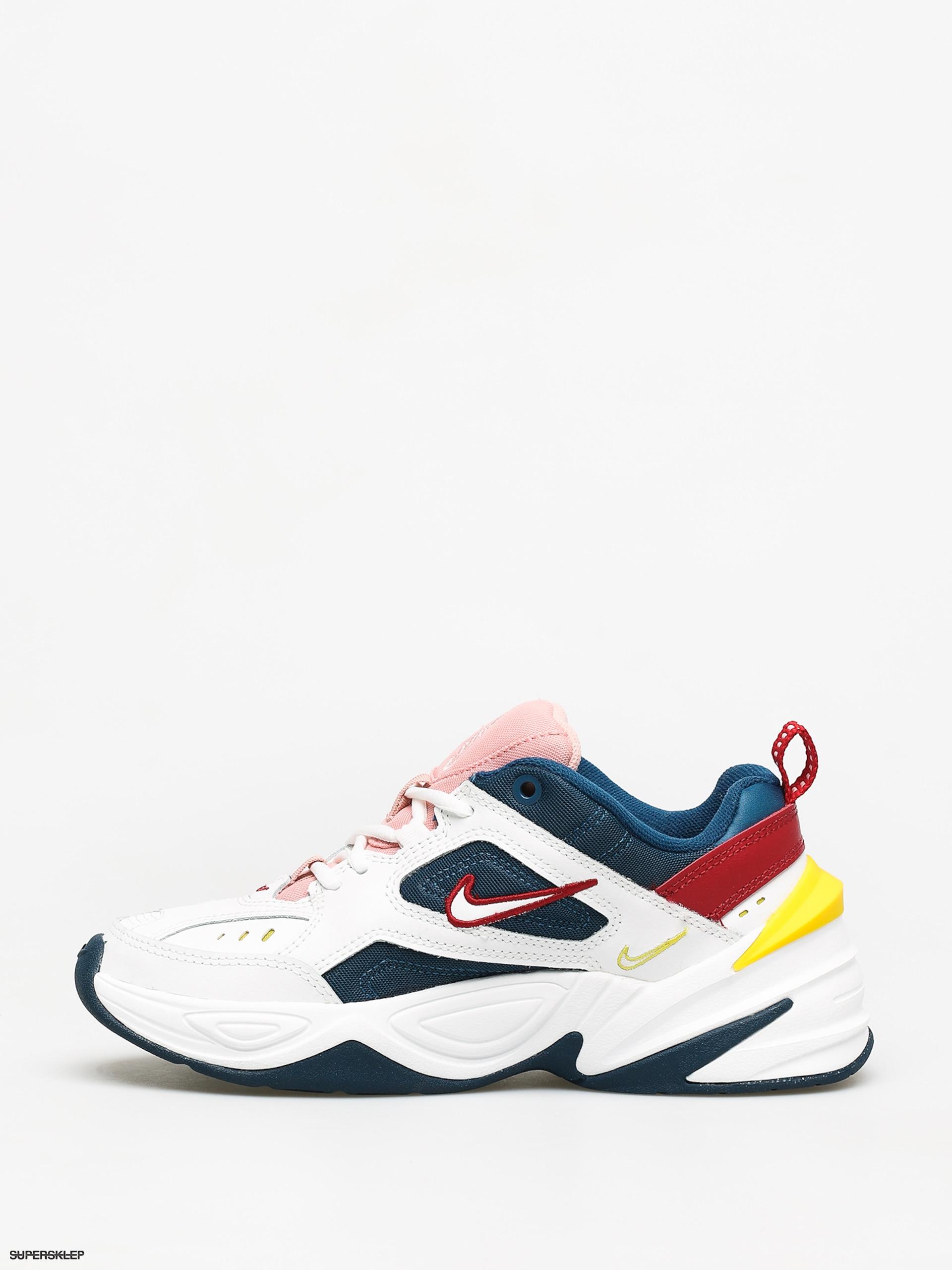 Buty Nike M2K Tekno Wmn (blue forcesummit white chrome yellow)