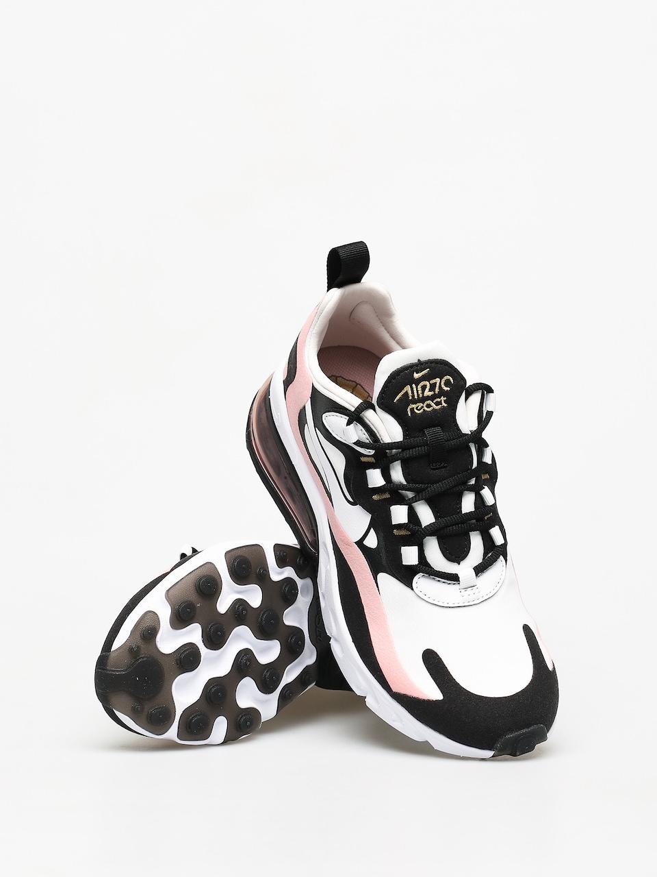 Buty Nike Air Max 270 React Wmn (blackwhite bleached coral