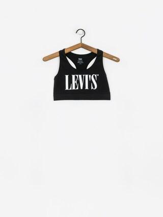 Stanik Levi's Logo Sprots Bra Wmn (black)